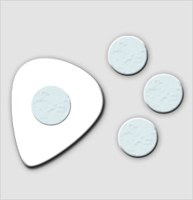 Clayton Picktac Pick Adhesive Dots