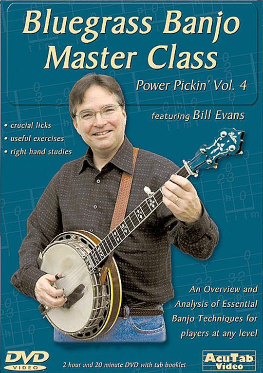 Power Pickin' Vol  4 - Bluegrass Banjo Master Class - $22 00 : The