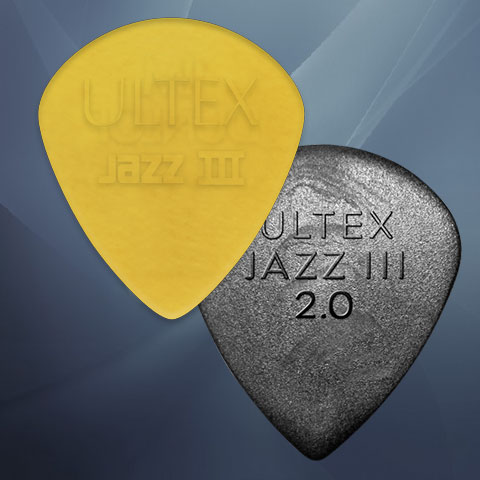 Dunlop Jazz III Ultex and Ultex 2.0